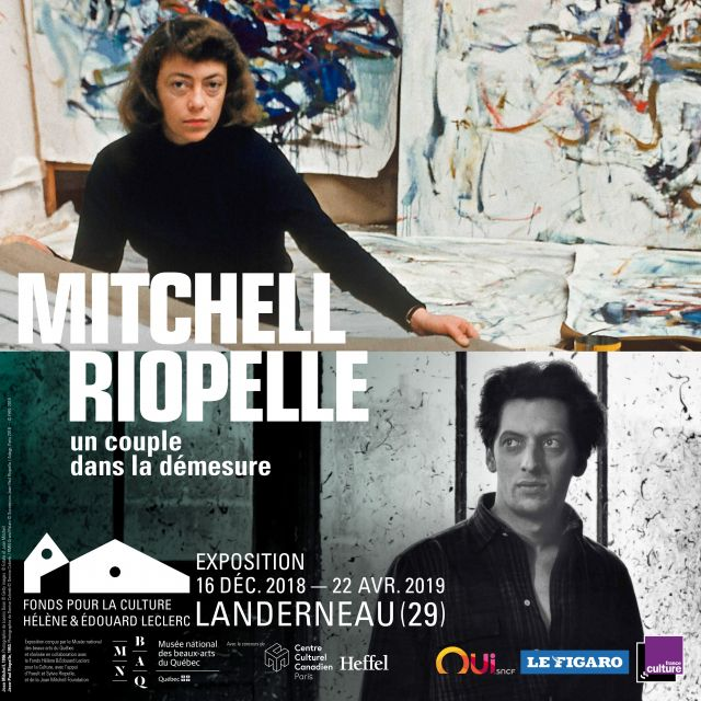 "Affiche de l'exposition ""Mitchell 